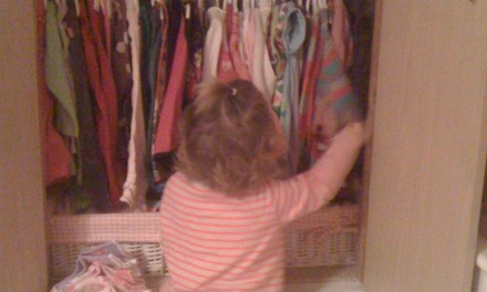 Silent Sunday:  Decisions, Decisions aged 15months!