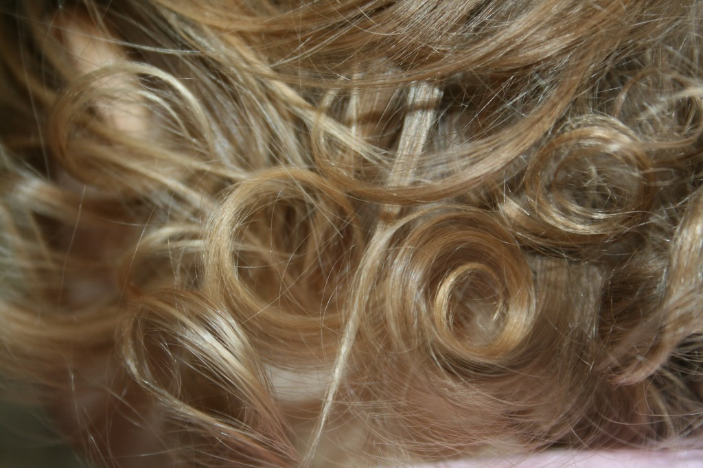 Beautiful Baby Curls