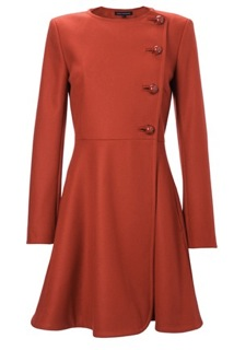 French Connection Flared Coat £190