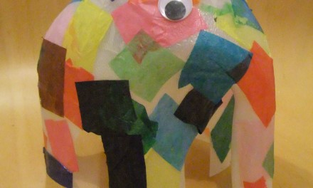 Kids Craft: Elmer Elephant