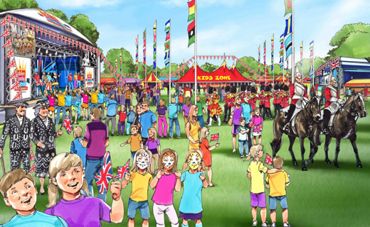 Our Jubilee & Half Term Plans