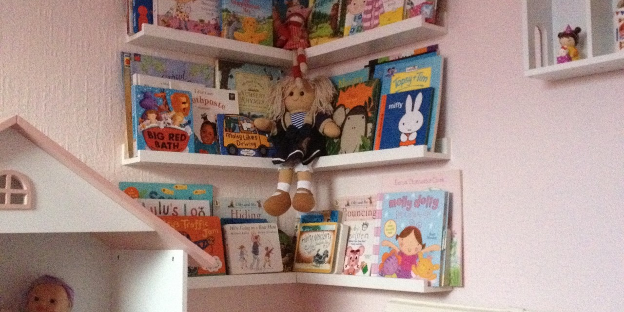New children's bookshelves