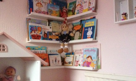 New children's bookshelves