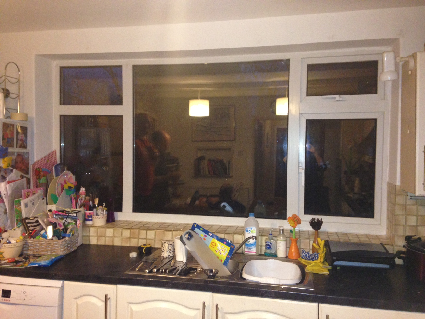 Before:  The Kitchen Window