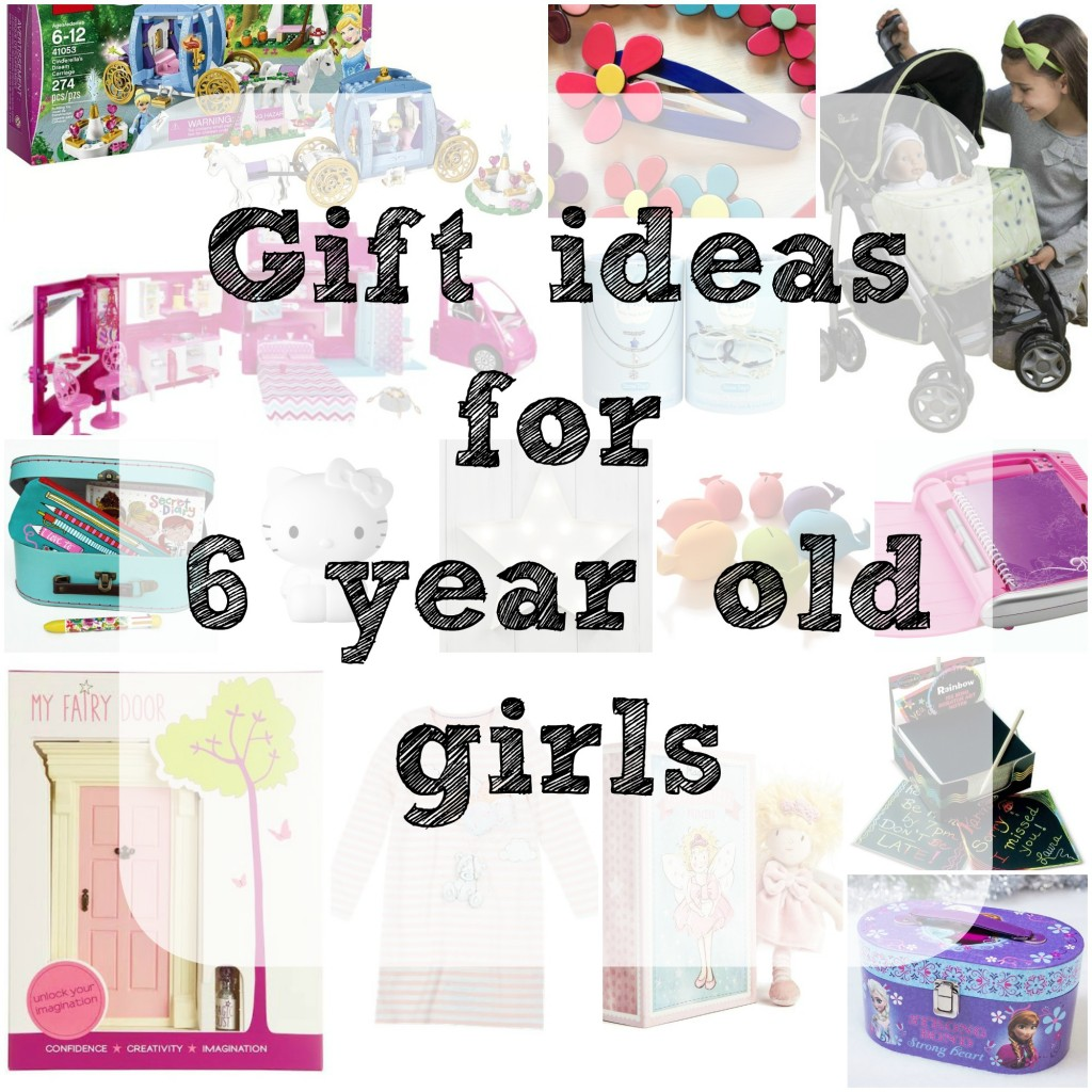 Gift Ideas for 6yo Girls cover