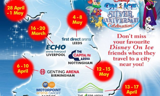 Celebrate When Disney On Ice Presents Silver Anniversary Celebration Comes To Echo Arena Liverpool
