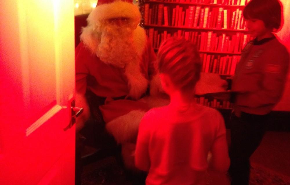 Santa's Secret Workshop Grotto At Intu Trafford Centre