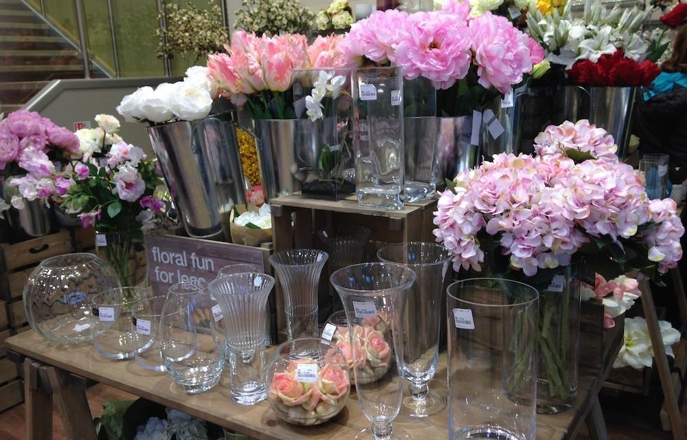 HomeSense Faux Flower Market