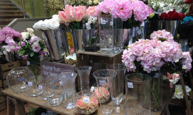 HomeSense Faux Flower Market