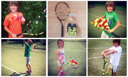 Inspired By Wimbledon? Get Your Kids Into Tennis
