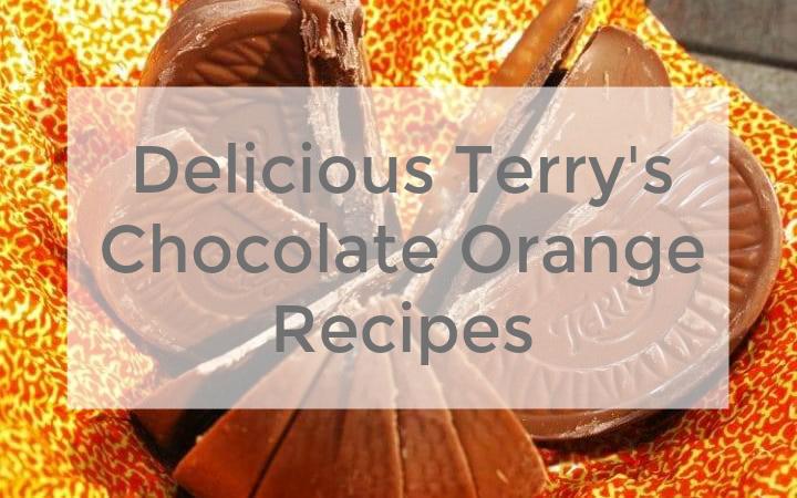 Delicious Terry's Chocolate Orange Recipes