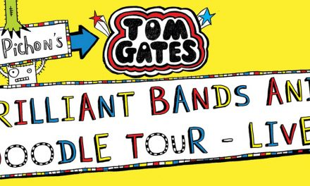 LIZ PICHON'S TOM GATES BRILLIANT BANDS AND DOODLE LIVE TOUR!