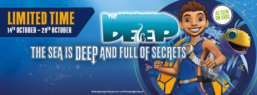 SEA LIFE Manchester Presents The Deep