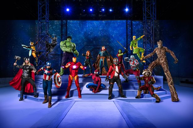 MARVEL UNIVERSE LIVE! COMES TO LIVERPOOL FOR THE FIRST TIME