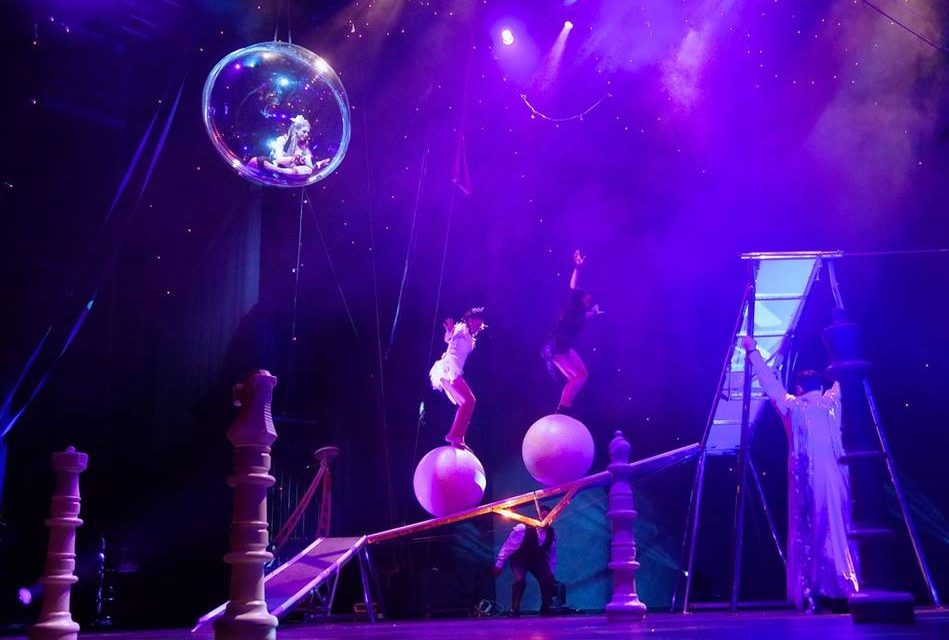 Quirki by Cirque Surreal comes to Manchester's Intu Trafford Centre