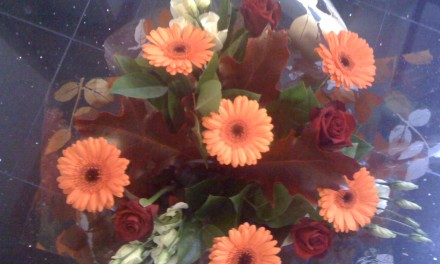 Flowers make you feel good