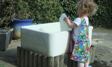 My Childrens Water Table