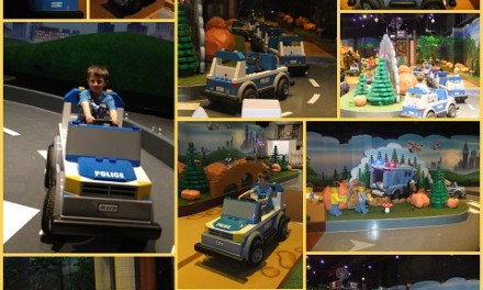 New Ride at Legoland Discovery Centre