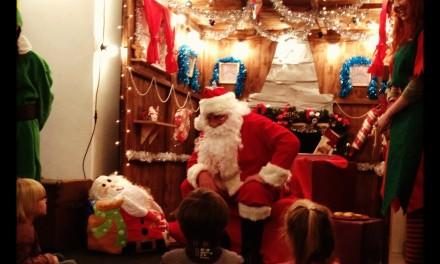 Santa Storytime & Skating in Spinningfields