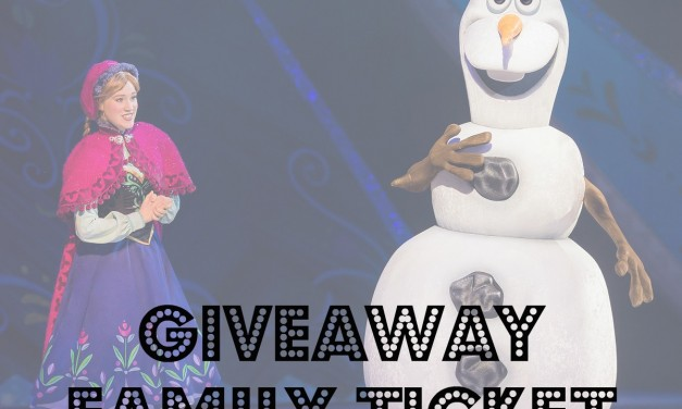 Disney On Ice Ticket Giveaway