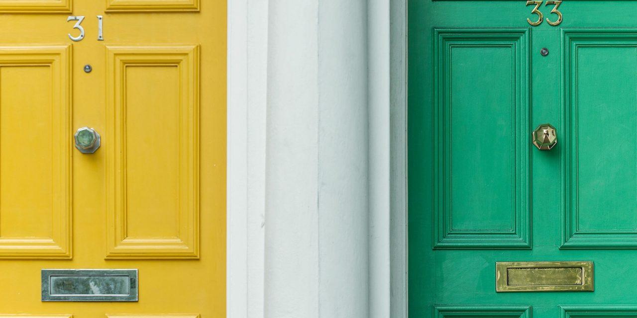 4 tips to consider when choosing a new front door